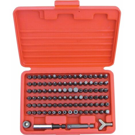 "Kennedy Master Screwdriver Bit Set 1/4""x25mm 100-PCE"