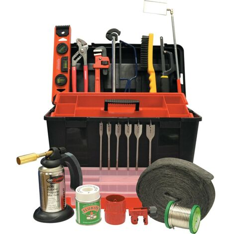 Kennedy Plumbers Handyman Toolkit 22-PCE