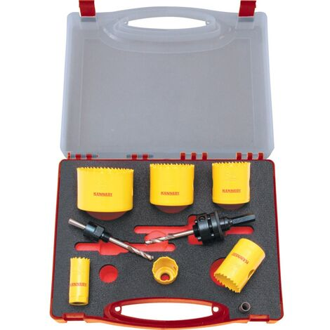 Kennedy PROFESSIONAL HOLESAW KIT IN PLASTIC CASE
