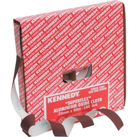 Kennedy Schleifpapier Sparrolle 50 m x 50 mm Korund K 120