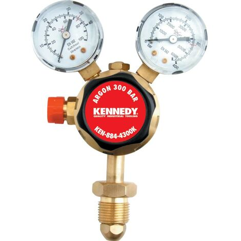 Kennedy Ssarg Argon Regulator Sgl Stage 300 Bar :0-35L/M