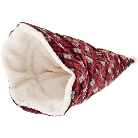 Kennel Christmas burrow shaped hat Santa Claus for dogs and cats