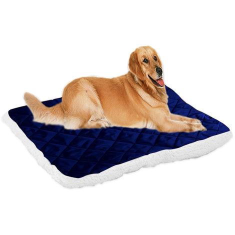 Kennel Pet Mat Dog Blanket Dark Blue, XL