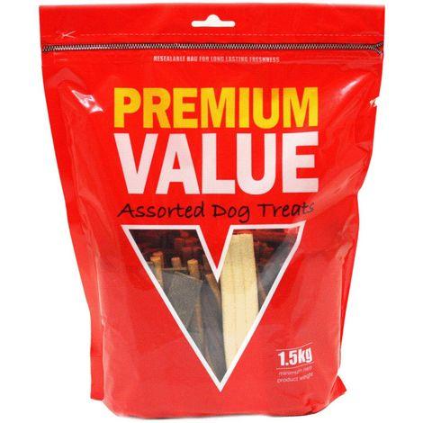 Kennelpak Limited Premium Value Assorted Dog Treats (1.5kg) (Assorted)