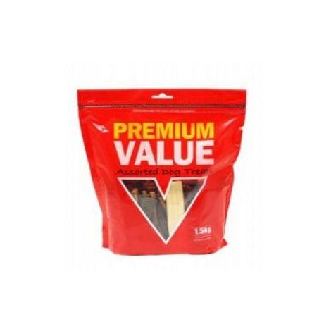 Kennelpak Premium Value Assorted Dog Treats (1.5kg) (May Vary)