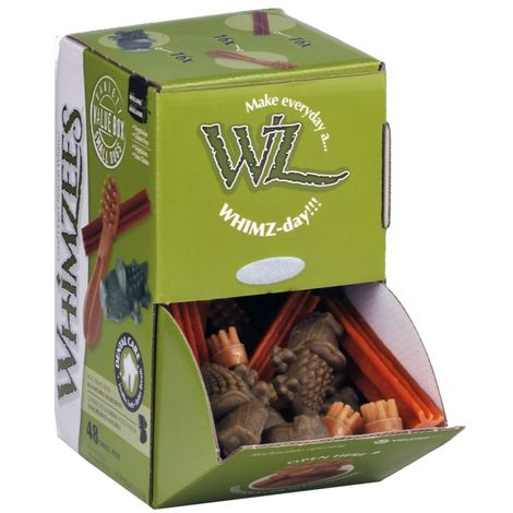 Kennelpak Whimzees Variety Treat Box (48 Pieces) (One Size) (May Vary)