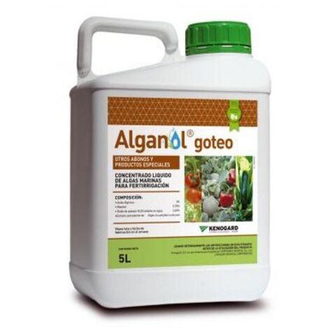 KENOGARD Concentrado Algas Marinas Fertirrigación ALGANOL GOTEO, 5 litros