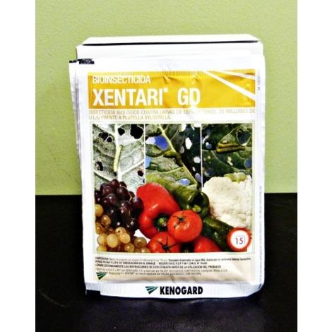 KENOGARD Insecticida Biológico Larvas Lepidópteros XENTARI 60 gr (4 x 15 gr)
