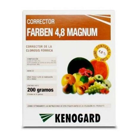 """main image of """"KENOGARD Quelato de Hierro FARBEN MAGNUM, Envase 200 gr (4 x 50 gr)"""""""