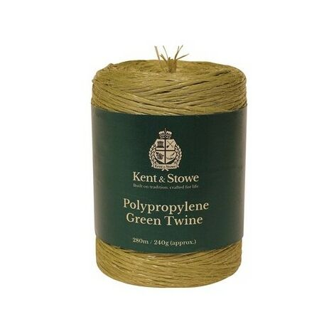"""main image of """"Kent & Stowe 70100810 Poly Green Twine 280m 240g"""""""