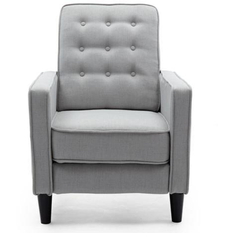 """main image of """"KENTON LINEN RECLINER CHAIR - different colors available"""""""