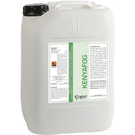 Kenyafog insecticida líquido para establos y granjas contra insectos 5 litros