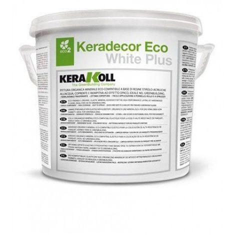 Keradecor Eco White Plus Pittura Minerale Organica Bianca Lt. 14 Kerakoll