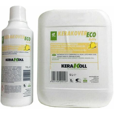 Kerakoll bonificante per muffe alghe funghi licheni int/est KERAKOVER ECO ACTIV