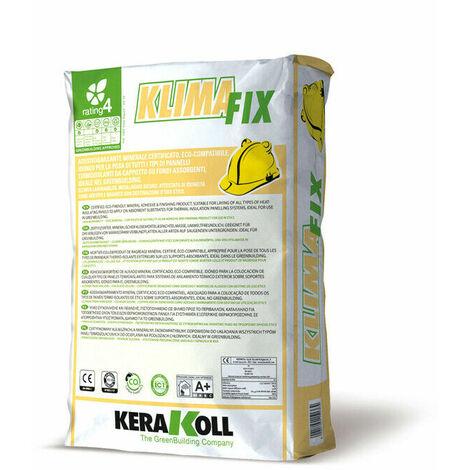 Kerakoll colla rasante minerale certificata eco compatibile KLIMA FIX 25 kg grigio
