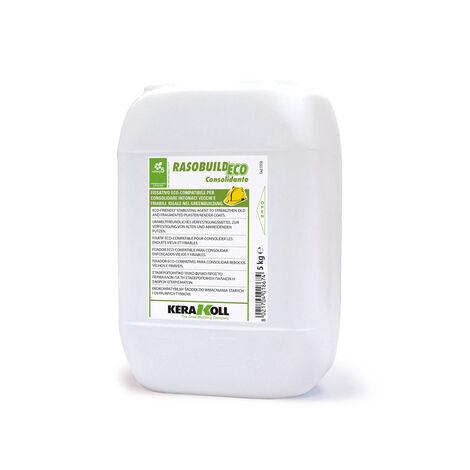 Kerakoll fissativo consolidante eco compatibile per intonaci RASOBUILD ECO CONSOLIDANTE 5 kg
