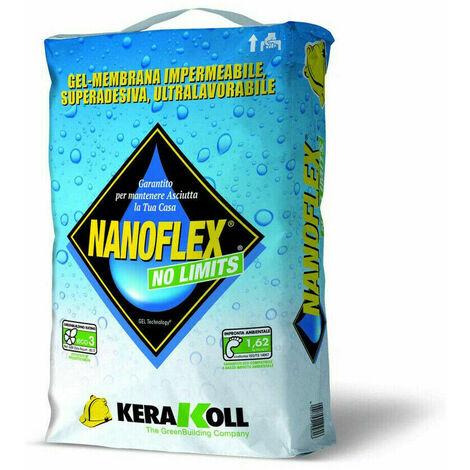 Kerakoll gel-membrana impermeabile traspirante NANOFLEX NO LIMITS 20 kg