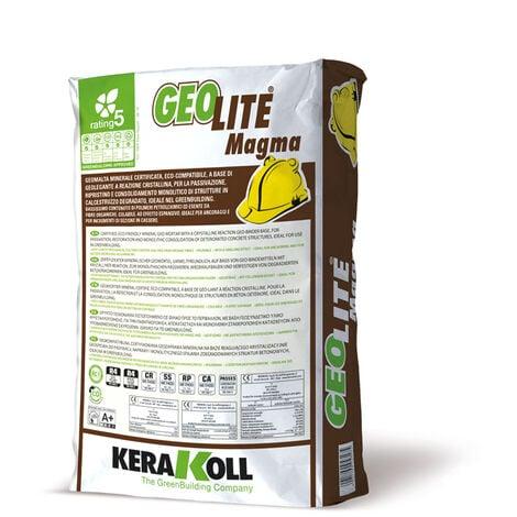 Kerakoll geomalta minerale certificata eco compatibile GEOLITE MAGMA 25 kg