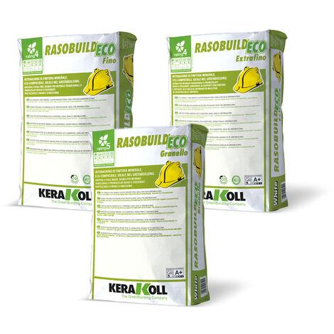 Kerakoll intonachino di finitura minerale eco compatibile RASOBUILD ECO