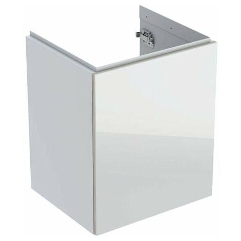 Keramag Acanto Handwaschbecken-Unterschrank 500608, 446x534x376mm, Farbe (Front/Korpus): Glas Weiß / Weiß Hochglanz lackiert - 500.608.01.2