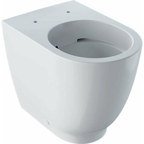 Keramag Acanto Tiefspül-WC, 500602, spülrandlos, 4,5/6L, bodenstehend, Farbe: Weiß, mit KeraTect - 500.602.01.8