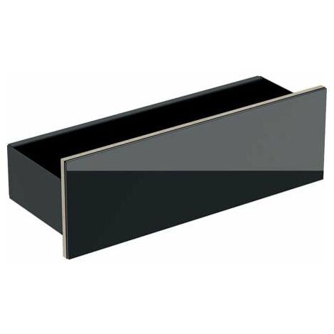 Keramag Acanto Wand-Board 500617, 450x148x160mm, Farbe (Front/Korpus): Glas Sand / Sand matt lackiert - 500.617.JL.2