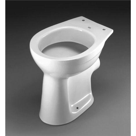 Keramag Delta Standflachspül WC Flachspüler bodenstehend Klo Toilette weiß