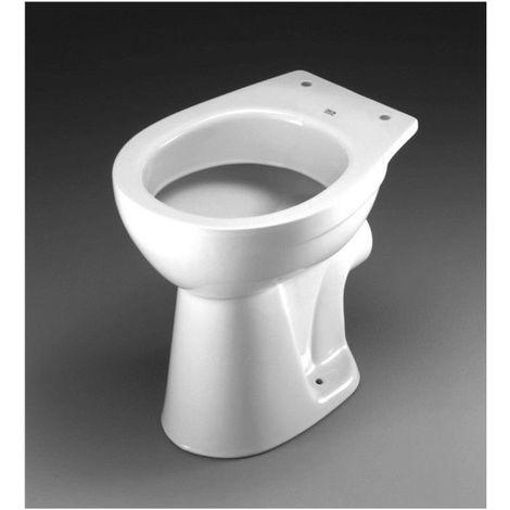 Keramag Delta Standtiefspül WC Tiefspüler bodenstehend Klo Toilette weiß