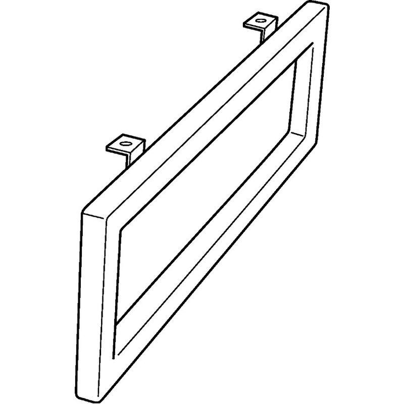 Keramag Handtuchhalter Preciosa II Chrom 48 5x10cm x2cm