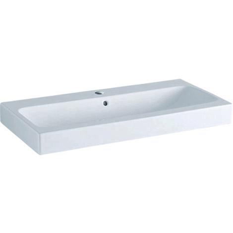Keramag iCon washbasin 90x48,5cm white, 124090, colour: White, with KeraTect - 124090600