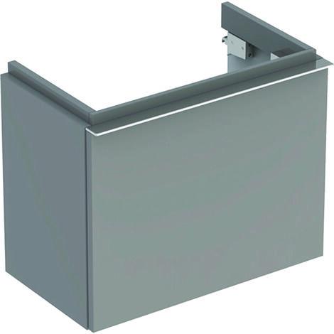 Keramag iCon xs Waschtischunterschrank 840054 520x420x308mm, Platin Hochglanz - 840054000