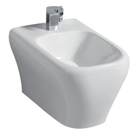 Keramag myDay Bidet colgante de pared, blanco con KeraTect, 235450600 - 235450600