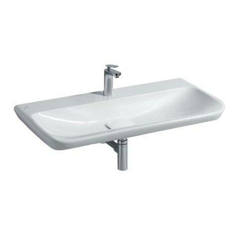 Keramag myDay washbasin 1000x480mm, white with KeraTect, 125400 - 125400600
