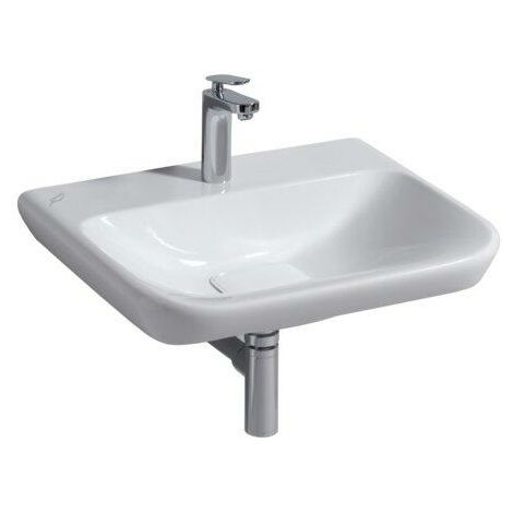 Keramag myDay washbasin 650x480mm, white with KeraTect, 125465 - 125465600