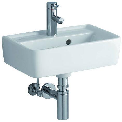 """main image of """"Keramag Renova Nr. 1 Plan Lavamano lavabo 45x32cm, con foro per rubinetto, con troppopieno, colorazione: Bianco, con KeraTect - 272145600"""""""