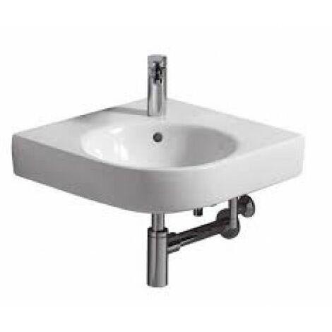 Keramag Renova Nr.1 Comprimo Nouveau lavabo d'angle, 50cm, 226150, Coloris: Blanc - 226150000