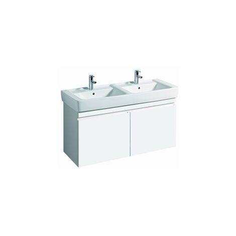 Keramag Renova Nr.1 Plan Vanity unit, 869130, 1226x586x438mm, blanco brillo intenso - 869130000