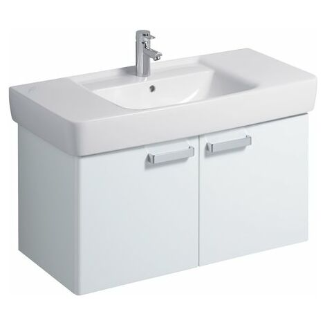 Keramag Renova Nr.1 Plan Vanity unit 879100 930x463x445mm, blanco - 879100000