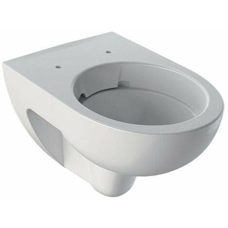 Keramag Renova Nr.1 WC lavable 4,5-6l accroché au mur sans bord de chasse, Coloris: Blanc, avec KeraTect - 203050600
