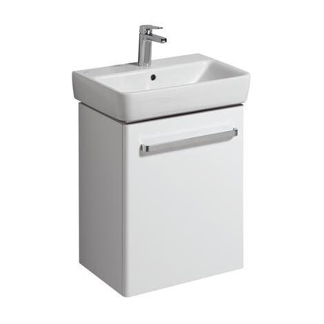 Keramag Vanity unit Renova Nr. 1 Comprimo New 500x604x337mm white matt/high-gloss white - 862055000