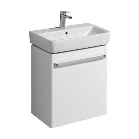Keramag vanity unit Renova Nr. 1 Comprimo New 549x604x337mm white matt/high-gloss white - 862060000
