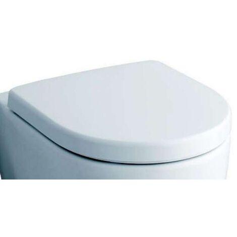 Keramag WC Sitz passt nur zu icon, Scharniere: Metall weiß, 574120000