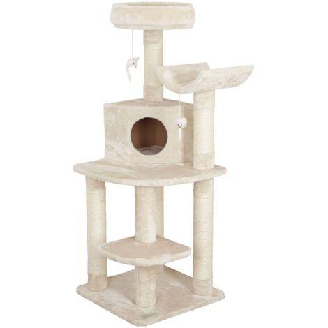 Kerbl Arbre à chat d'angle Zirkonia 130 cm Crème