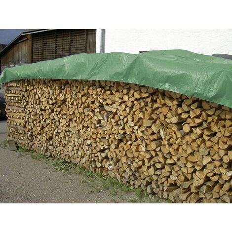 Kerbl Bâche de protection imperméable pour bois - 1,5 x 6 m - 210 g/m²