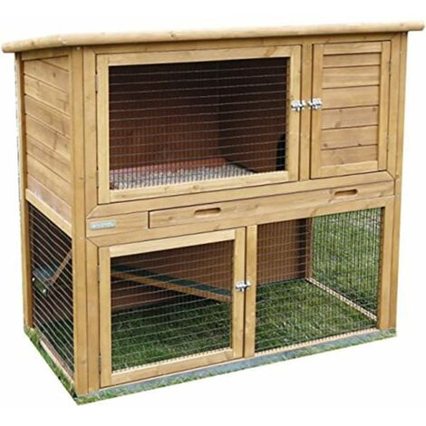 Kerbl Cage pour rongeurs Browni Beige 115 x 64 x 108 cm 81710