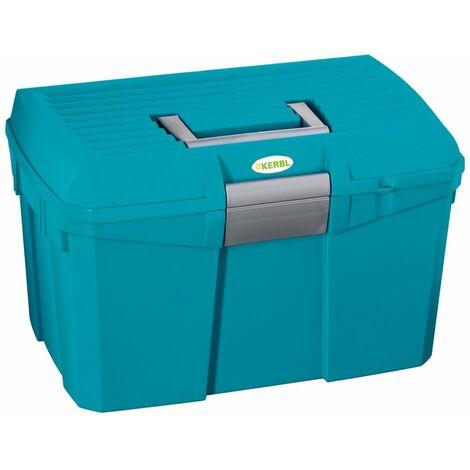 Kerbl Caja de aseo para caballos Siena azul oscuro 328268