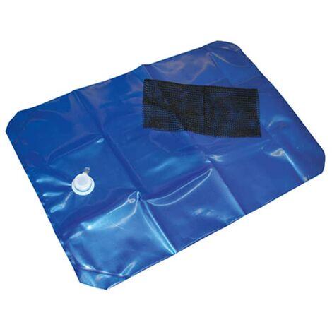 Kerbl Contenedor de agua H2GO 80 L 100x40 cm 29382 - Azul