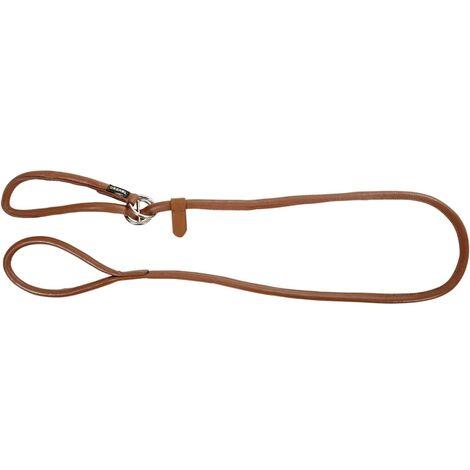 Kerbl Correa de perro Roma 1,7 m cuero marrón 81100 - Marrone