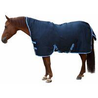 Kerbl Couverture de cheval RugBe HighNeck Bleu 135/185 cm 328665