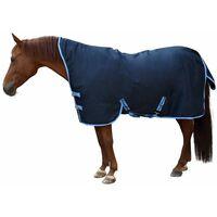 Kerbl Couverture de cheval RugBe HighNeck Bleu 145/195 cm 328666